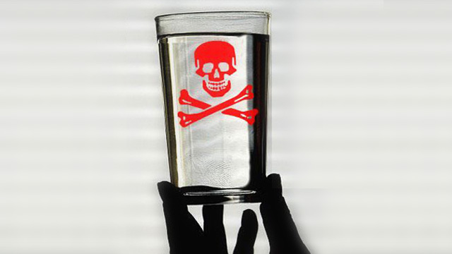 Study quantifies how fluoride lowers I.Q. scores in children Toxic-Fluoride-Glass