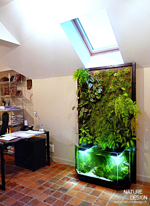 Projet mur végétal et aquarium  - Page 3 Mur-vegetal-aquaponie-nature-design