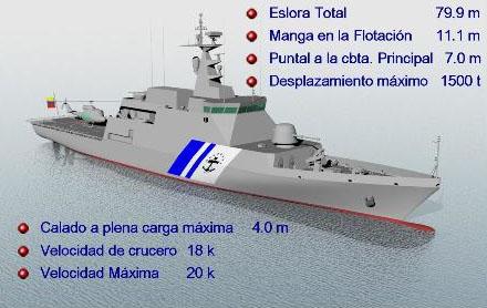 [ODB] ARMADA BOLIVARIANA DE VENEZUELA. MARINE VENEZUELIENNE Blv