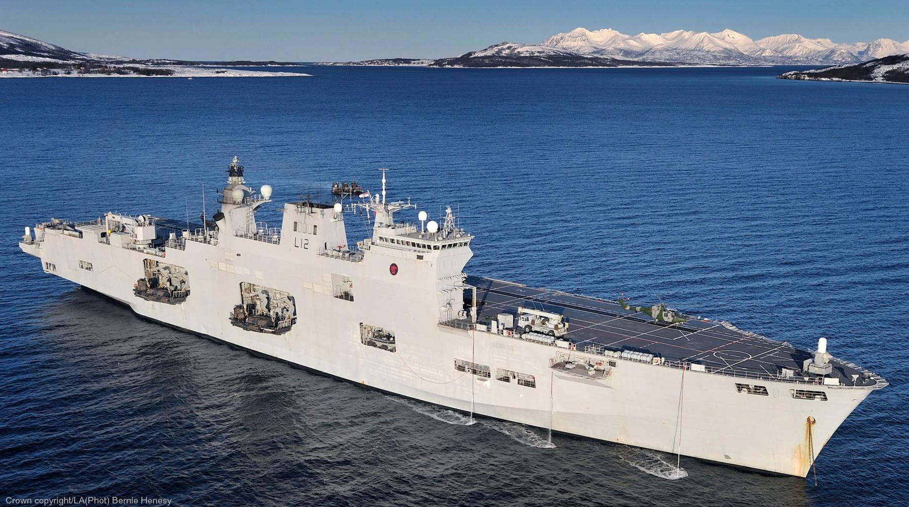 Porta-Helicópteros Multipropósito (PHM) Atlántico - A140 L-12-HMS-Ocean-012