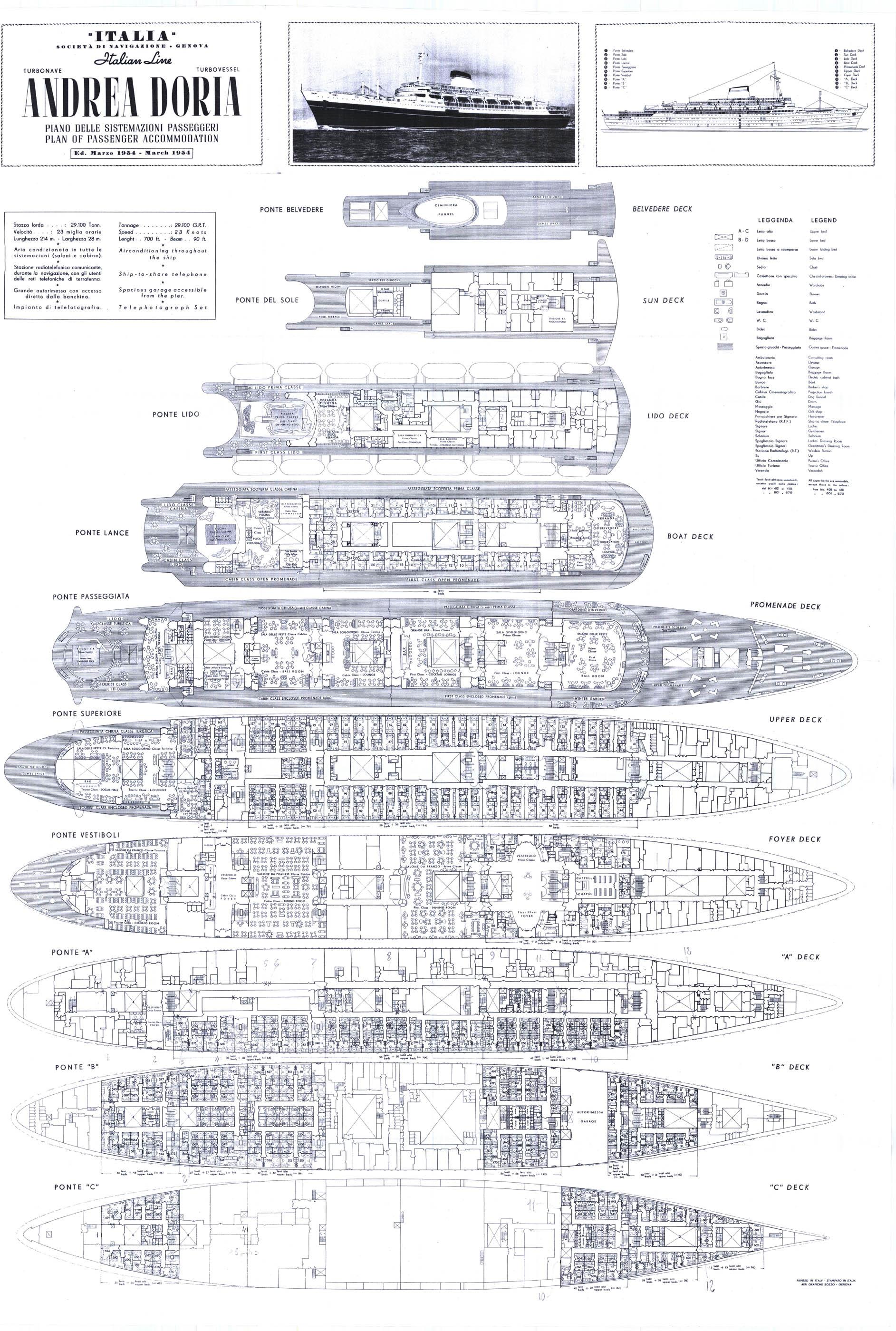 piani  -scr - Piani di costruzione TN Andrea Doria,un parere Andrea_Doria_Deck_Plans