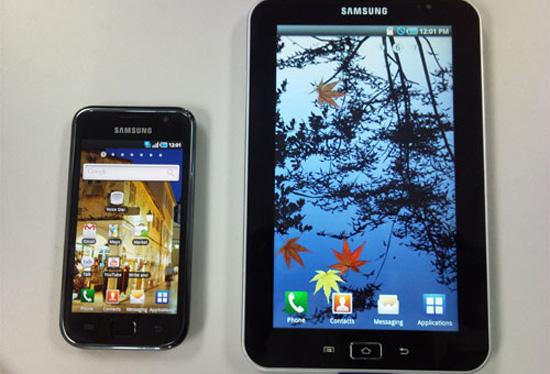 O primeiro tablet PC da Samsung - Samsung Galaxy TAB Samsung-galaxy-tab