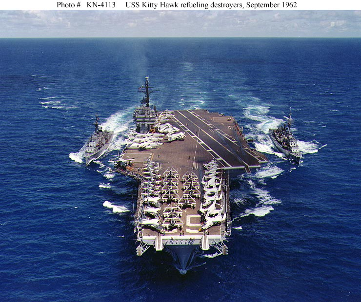 Supercarrier USS Kitty Hawk (CV-63) - Trumpeter - 1/350 - Page 2 026318