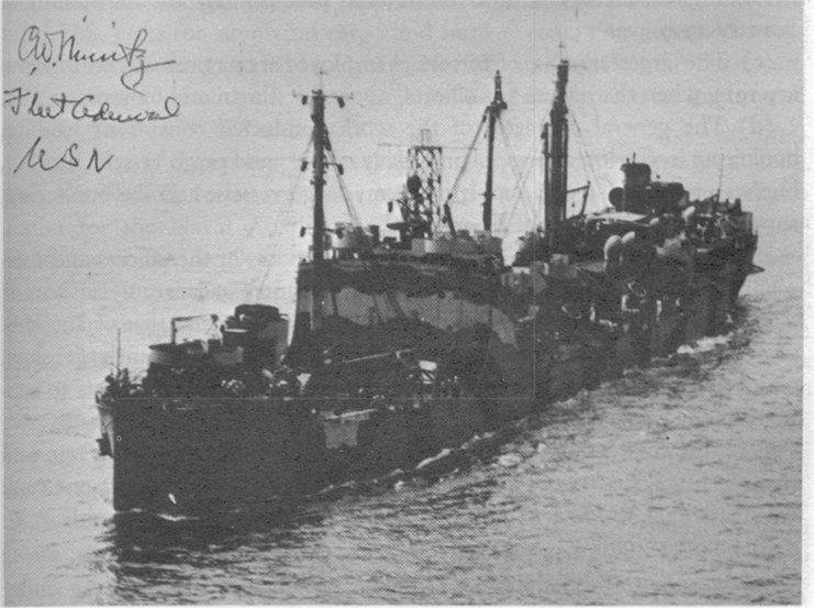 Pétrolier US - 1/700 - USS Maumee - Niko Models -  091900201