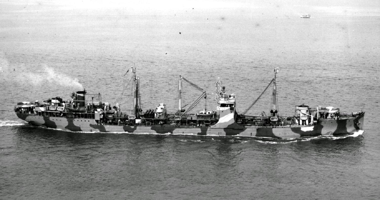 Pétrolier US - 1/700 - USS Maumee - Niko Models -  091900206