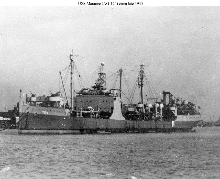 Pétrolier US - 1/700 - USS Maumee - Niko Models -  091900213