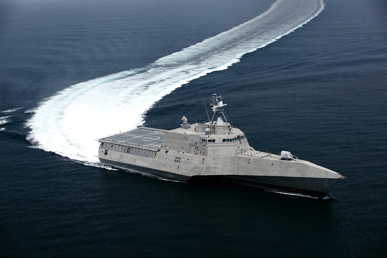 الجزائر تتفاوض مع امريكا حول (Littoral Combat Ship (LCS 1502015