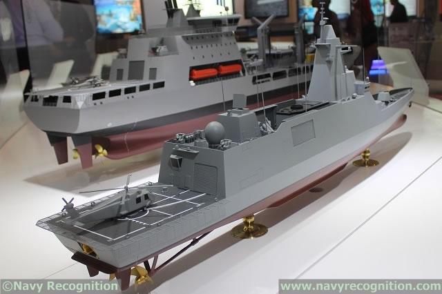industrie militaire dans le monde  - Page 2 DSME_DW_3000H_Royal_Thai_Navy_Frigate_DSA_2014_news_1