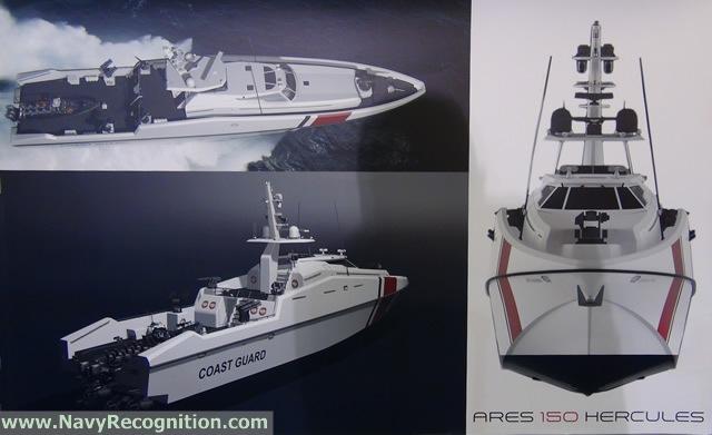 حزمة تسليحيه ضخمه لقطر  ARES_150_Hercules_multi-role_patrol_craft_Qatar_CG_DIMDEX_2014_news