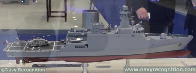 industrie militaire dans le monde  - Page 2 Navantia_Avante_1800_corvette_DIMDEX_2014_news_Qatar_1