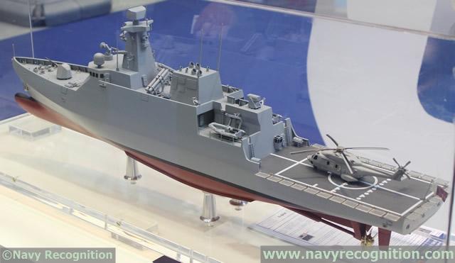 industrie militaire dans le monde  - Page 2 Navantia_Avante_1800_corvette_DIMDEX_2014_news_Qatar_2