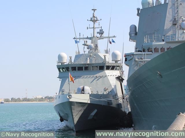 industrie militaire dans le monde  - Page 2 Navantia_Avante_1800_corvette_DIMDEX_2014_news_Qatar_4