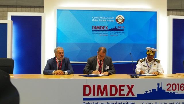 """قطر توقع 10 مذكرات تفاهم لتسليح وتطوير قواتها المسلحة في اليوم الثاني من معرض """"ديمدكس"""" Marte_Coastal_Missile_System_signature_DIMDEX_2016"""