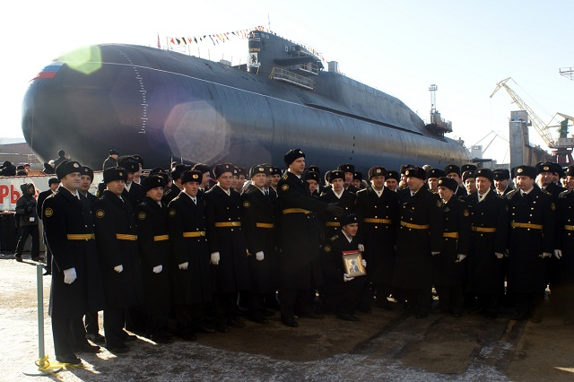 Armée Russe / Armed Forces of the Russian Federation - Page 21 Russian_navy_ubmarine_Project_667BDRM_Delfin_detla_IV_Verkhoturye_SSBN