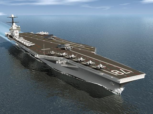 US Navy - Page 39 CVN_aircraft_carrier_USS_Gerald_R_Ford_CVN_78