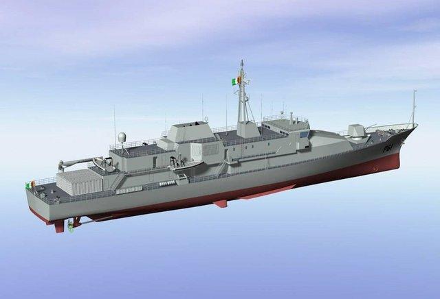 Armée Irlandaise/Irish Armed Forces STX_Canada_Marine_PV90_OPV_Irish_Naval_Service_INS