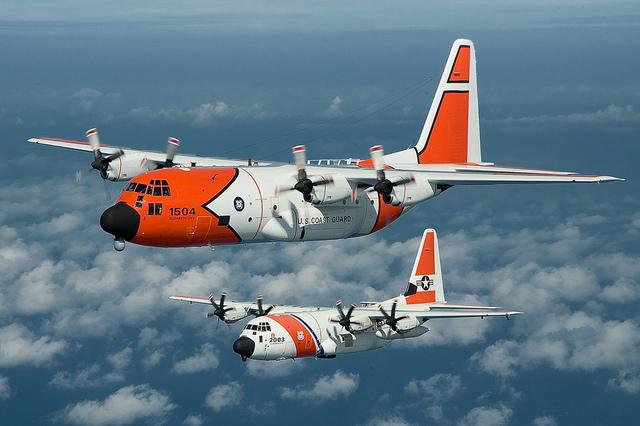 US Cost Guard USCG_HC130J_Lockheed