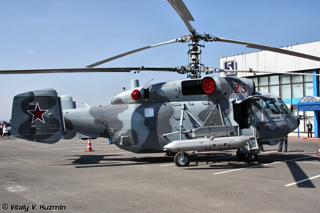 Armée Russe / Armed Forces of the Russian Federation - Page 2 Russian_Navy_Ka_29_Helicopter_Mistral_class_1