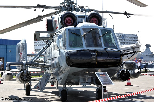 Armée Russe / Armed Forces of the Russian Federation - Page 2 Russian_Navy_Ka_29_Helicopter_Mistral_class_2