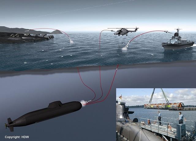 اهم مشاهد معرض MSPO 2015 IDAS_Sub_Launched_Missile