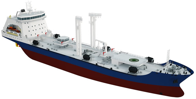 Auxilliary vessels, Special-purpose and minor naval ships Russian_Navy_medium_sized_sea_tanker_AOR_Academician_Pashin_project_23130_1