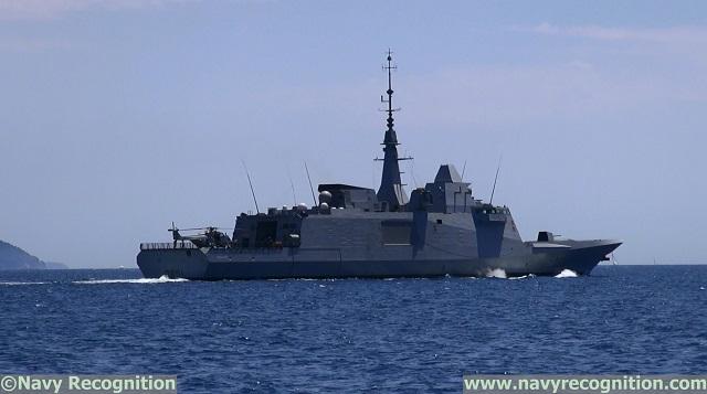 مصر تريد أن تحضى بفرقاطة من طراز FREMM  FREMM_Normandie_Frigate_French_Navy
