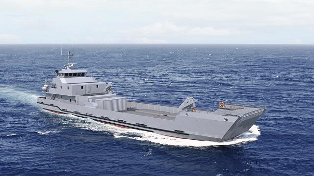 البحرية المغربية تقتني سفينة BHO2M الفرنسية  .. وصفقات عسكرية بالأفق PIRIOU_LCT_50_Landing_Craft_Maroc_RMN_Royal_Morrocan_Navy