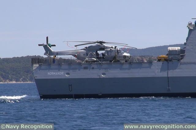 مصر على وشك الحصول على طائرات هليكوبتر من نوع NH90 من اجل فرقاطتها الفريم الجديدة NH90_NFH_FREMM_Normandie_Egypt_Tahya_Misr