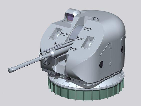 خطط البحريه الروسيه لتجهيز سفنها بالمدفع البحري AK-176 الشبحي ! AK_176MA_naval_gun