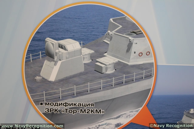 Naval Air Defence systems - Page 5 Naval_Tor-M2_Almaz_Antey_IMDS_2013_2