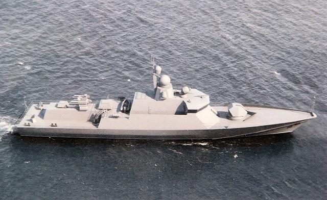روسيا تعرض كورفيت Project 22800E Karakurt-class  مخصص للتصدير و بتجهيزات غربيه  Project_22800_corvette_almaz