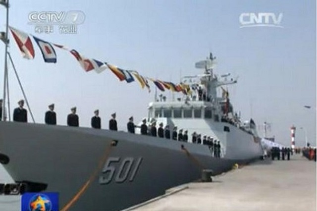 2015...ماذا حدث للبحرية الصينية؟ PLAN_Type056_Corvette_Xinyang
