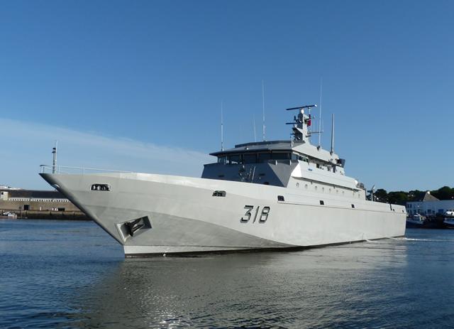 Royal Moroccan Navy Patrol Boats / Patrouilleurs de la Marine Marocaine - Page 12 PIRIOU_Rais_Bargach_Royal_Moroccan_Navy