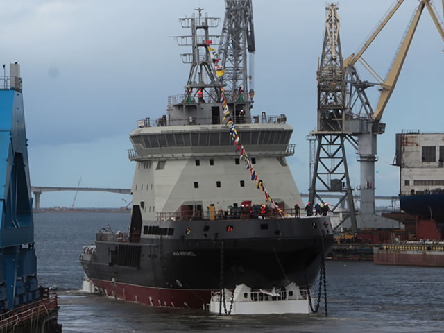 Auxilliary vessels, Special-purpose and minor naval ships - Page 5 Russian_Navy_icebreaker_Ilya_Muromets_project_21180