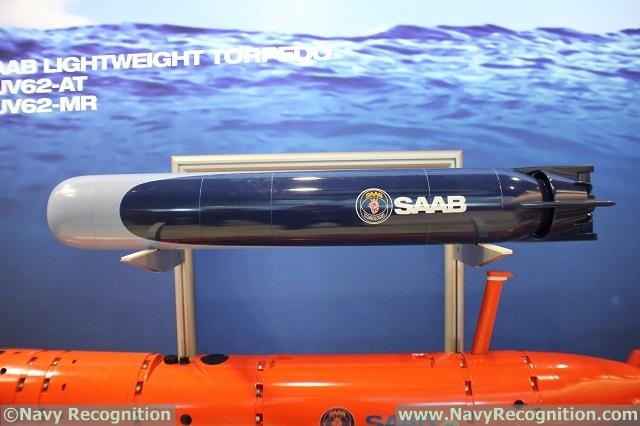 طوربيد جديد من Saab السويديه Saab_Lightweight_Torpedo_UDT_2017_1