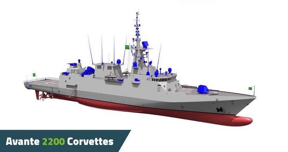 Unidades que pudiera poseer la Armada - Página 23 Navantia_to_build_5_Avante_2200_Corvettes_for_Royal_Saudi_Navy