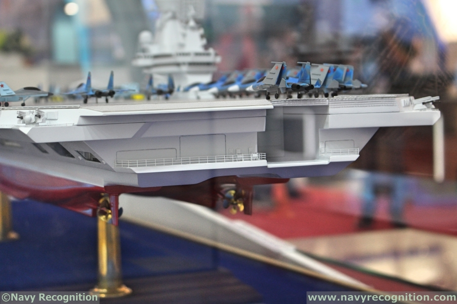 Future russian aircraft carriers. #2 - Page 3 Russias_Krylov_Light_Aircraft_Carrier_Project_Features_Semi-Catamaran_Hull_Design_3