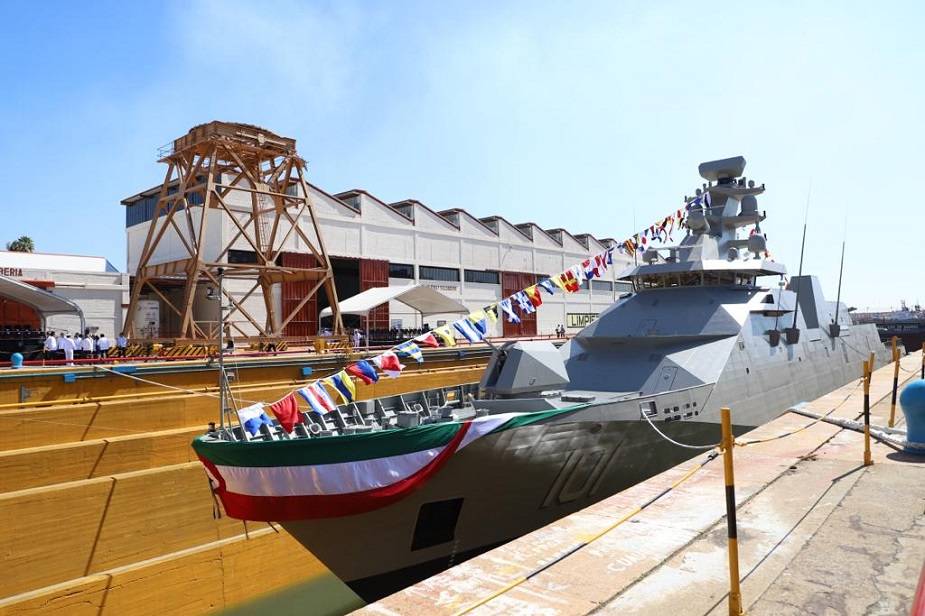 Armée Mexicaine / Mexican Armed Forces / Fuerzas Armadas de Mexico - Page 9 Mexican_SIGMA_Class_Frigate_ARM_Reformer_Completes_Sea_Trials_925_001