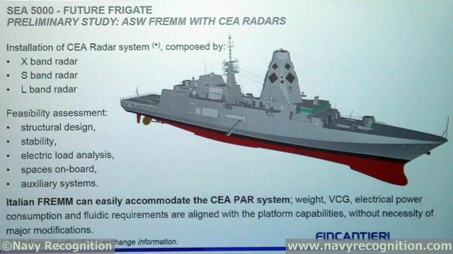 مستقبل البحريات العربية..استراليا نموذجا SEA5000_CEAFAR2_CEA_Radar_Fincantieri_FREMM_PACIFIC_2015