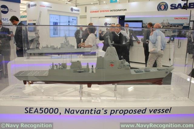 مستقبل البحريات العربية..استراليا نموذجا SEA5000_CEAFAR2_CEA_Radar_Navantia_PACIFIC_2015