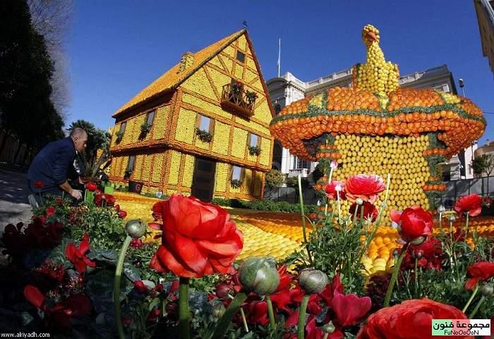 مهرجان الليمون 1329516737625