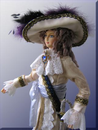 Petite revue des poupées Lady Oscar D-philippe38