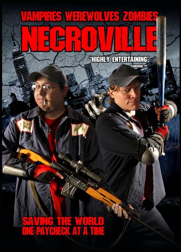 Necroville,  nueva ida de olla a la americana Necrodvd