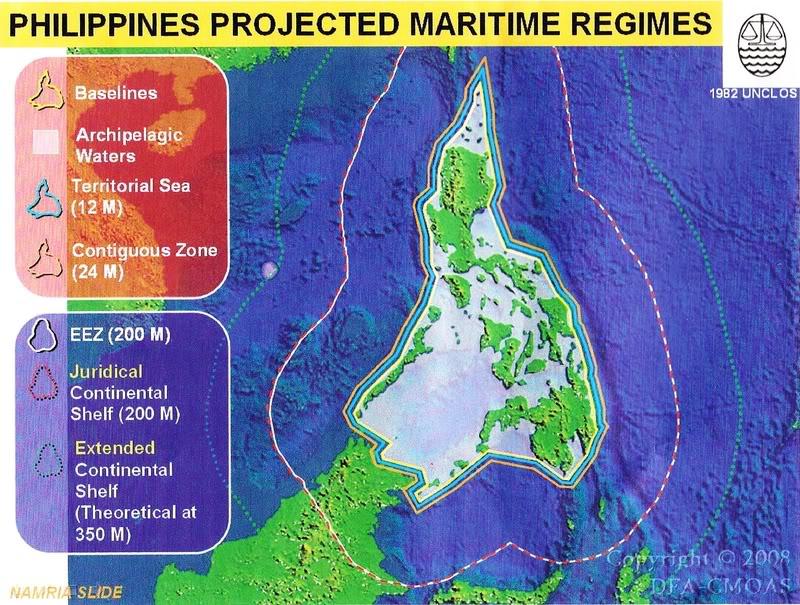 Philippine Territory on 28 Sept. 1945 Philippines-200-mile-EEZ-Exclusive-Economic-Zone