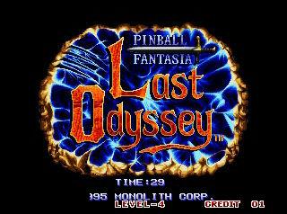 Last Odyssey: Pinball Fantasia Lo