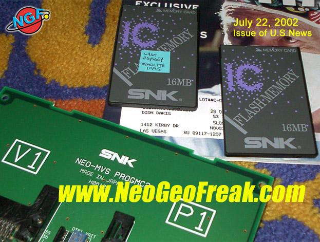 [Back to the past] Site Neo Geo Freak ProtoLO2