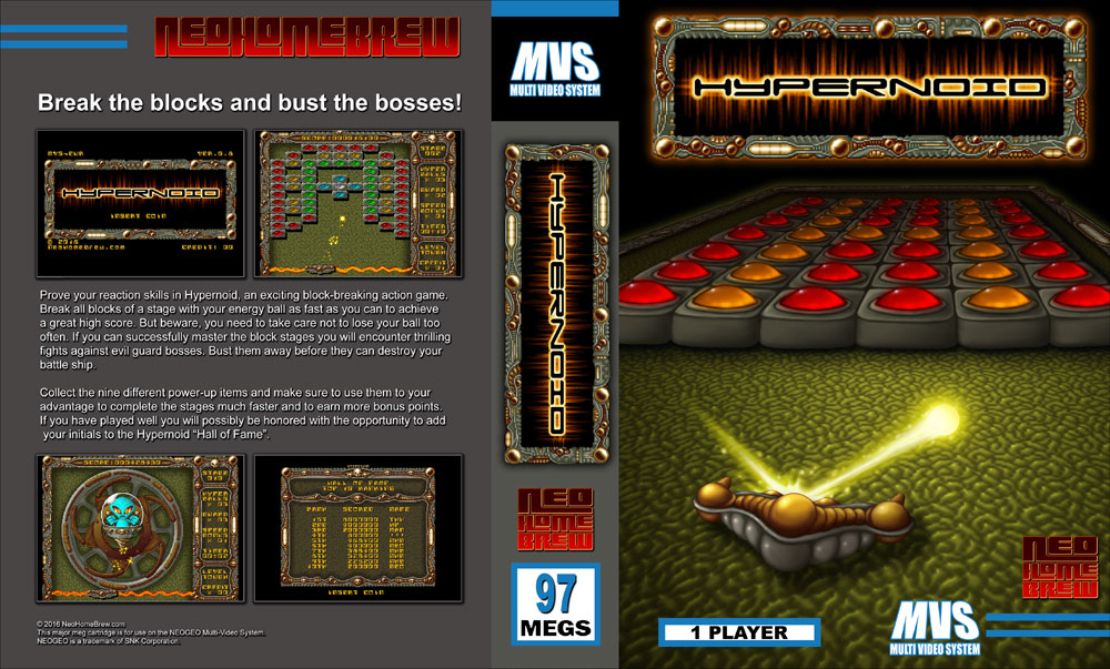Hypernoid for Neo Geo MVS & AES Hypernoid-cover-preview
