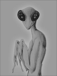 Alien Visitations: What John Lennon Told Uri Geller Before His Death Grey_mantis