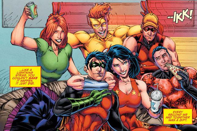 983-987 - Les comics que vous lisez en ce moment - Page 2 TitansRebirthBanner