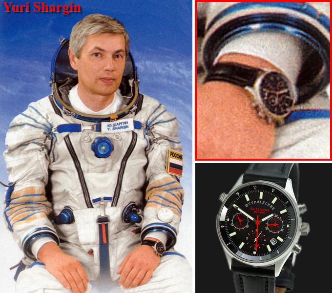 Les montres Russes et l'espace Yuri_Shargin